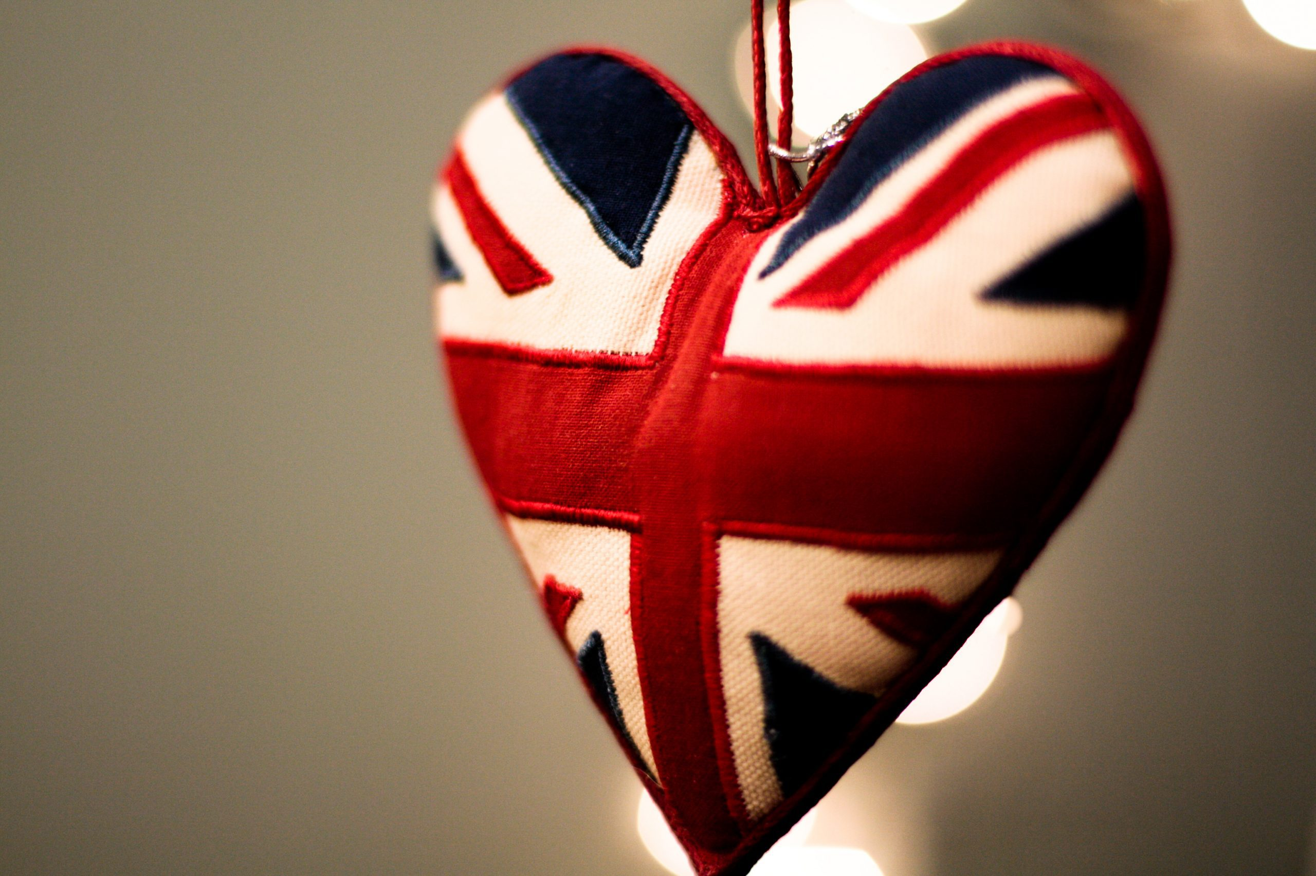 The heart-shaped Union Jack