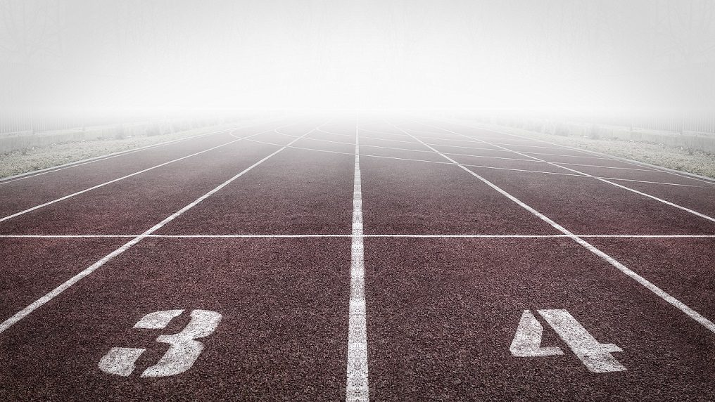 running track positions 3 and 4