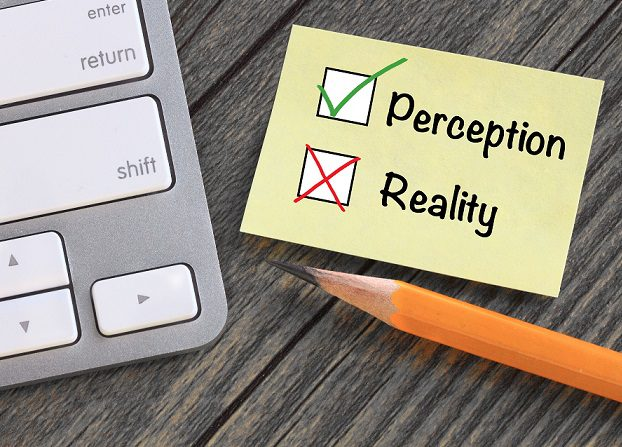 Perception v reality