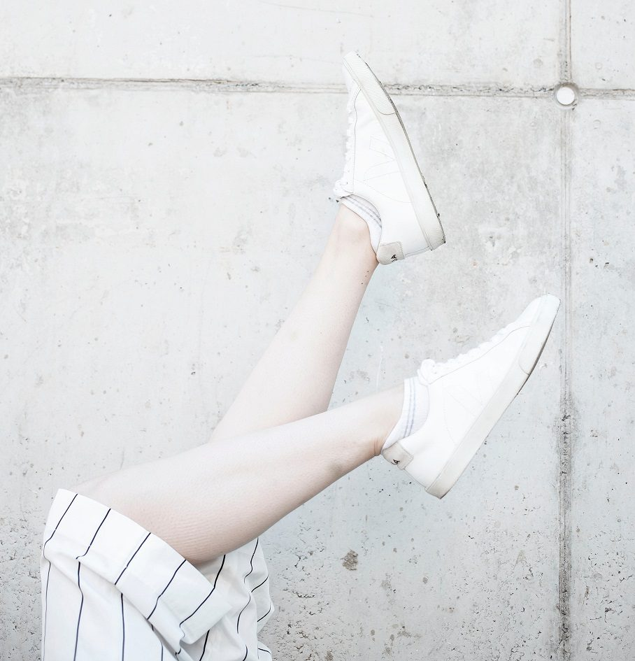 Veja trainers in white