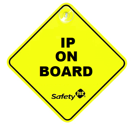 IP on board sign safety