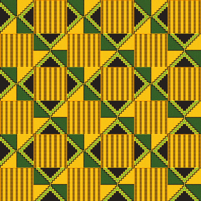 Kente design pattern